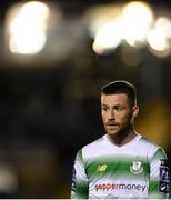 19 August 2019; Jack Byrne of Shamrock Rovers during the SSE Airtricity League Premier Division match between Waterford and Shamrock Rovers at RSC in Waterford. Photo by Eóin Noonan/Sportsfile