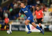19 August 2019; Tom Holland of Waterford during the SSE Airtricity League Premier Division match between Waterford and Shamrock Rovers at RSC in Waterford. Photo by Eóin Noonan/Sportsfile