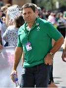 24 August 2019; IRFU Performance Director David Nucifora ahead of the Quilter International match between England and Ireland at Twickenham Stadium in London, England. Photo by Ramsey Cardy/Sportsfile