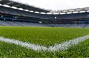 25 August 2019; A detailed view of Croke Park ahead of the TG4 All-Ireland Ladies Senior Football Championship Semi-Final match between Galway and Mayo at Croke Park in Dublin. Photo by Sam Barnes/Sportsfile