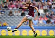 25 August 2019; Mairéad Seoighe of Galway shoots to score her side's first goal during the TG4 All-Ireland Ladies Senior Football Championship Semi-Final match between Galway and Mayo at Croke Park in Dublin. Photo by Sam Barnes/Sportsfile