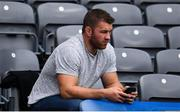 25 August 2019; Rugby player Sean O'Brien in attendance during the TG4 All-Ireland Ladies Senior Football Championship Semi-Final match between Galway and Mayo at Croke Park in Dublin. Photo by Sam Barnes/Sportsfile