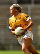 24 August 2019; Áine Tubridy of Antrim during the TG4 All-Ireland Ladies Football Junior Championship Semi-Final match between Louth and Antrim at St Tiernach's Park in Clones, Monaghan. Photo by Ray McManus/Sportsfile