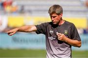 25 August 2019; Ronan O'Gara head coach of La Rochelle during the LNR Top 14 match between ASM Clermont Auvergne and La Rochelle at Stade Marcel-Michelin in Clermont-Ferrand, France. Photo by Romain Biard/Sportsfile