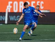 24 August 2019; Harry Byrne of Leinster during the pre-season friendly match between Canada and Leinster at Tim Hortons Field in Hamilton, Canada. Photo by Kevin Sousa/Sportsfile