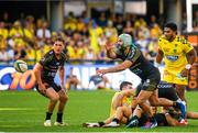 25 August 2019; Kevin Gourdon of La Rochelle during the LNR Top 14 match between ASM Clermont Auvergne and La Rochelle at Stade Marcel-Michelin in Clermont-Ferrand, France. Photo by Romain Biard/Sportsfile