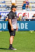 25 August 2019; Jono Gibbes director of rugby at La Rochelle during the LNR Top 14 match between ASM Clermont Auvergne and La Rochelle at Stade Marcel-Michelin in Clermont-Ferrand, France. Photo by Romain Biard/Sportsfile