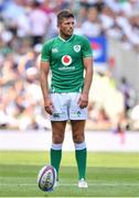 24 August 2019; Ross Byrne of Ireland during the Quilter International match between England and Ireland at Twickenham Stadium in London, England. Photo by Brendan Moran/Sportsfile