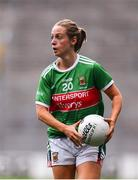 25 August 2019; Lisa Cafferky of Mayo during the TG4 All-Ireland Ladies Senior Football Championship Semi-Final match between Galway and Mayo at Croke Park in Dublin. Photo by Sam Barnes/Sportsfile