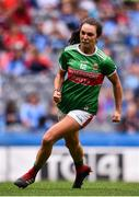 25 August 2019; Niamh Kelly of Mayo celebrates after scoring her side's first goal during the TG4 All-Ireland Ladies Senior Football Championship Semi-Final match between Galway and Mayo at Croke Park in Dublin. Photo by Sam Barnes/Sportsfile