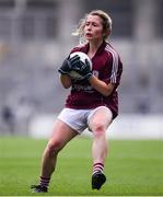 25 August 2019; Shauna Molloy of Galway during the TG4 All-Ireland Ladies Senior Football Championship Semi-Final match between Galway and Mayo at Croke Park in Dublin. Photo by Sam Barnes/Sportsfile