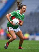 25 August 2019; Niamh Kelly of Mayo during the TG4 All-Ireland Ladies Senior Football Championship Semi-Final match between Galway and Mayo at Croke Park in Dublin. Photo by Brendan Moran/Sportsfile