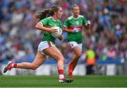 25 August 2019; Sinéad Cafferky of Mayo during the TG4 All-Ireland Ladies Senior Football Championship Semi-Final match between Galway and Mayo at Croke Park in Dublin. Photo by Brendan Moran/Sportsfile