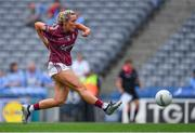 25 August 2019; Megan Glynn of Galway during the TG4 All-Ireland Ladies Senior Football Championship Semi-Final match between Galway and Mayo at Croke Park in Dublin. Photo by Brendan Moran/Sportsfile