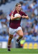 25 August 2019; Sinéad Burke of Galway during the TG4 All-Ireland Ladies Senior Football Championship Semi-Final match between Galway and Mayo at Croke Park in Dublin. Photo by Brendan Moran/Sportsfile