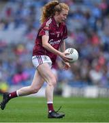 25 August 2019; Louise Ward of Galway during the TG4 All-Ireland Ladies Senior Football Championship Semi-Final match between Galway and Mayo at Croke Park in Dublin. Photo by Brendan Moran/Sportsfile