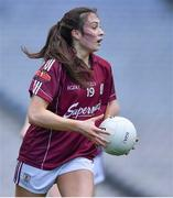 25 August 2019; Leanne Coen of Galway during the TG4 All-Ireland Ladies Senior Football Championship Semi-Final match between Galway and Mayo at Croke Park in Dublin. Photo by Brendan Moran/Sportsfile