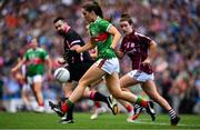 25 August 2019; Dayna Finn of Mayo during the TG4 All-Ireland Ladies Senior Football Championship Semi-Final match between Galway and Mayo at Croke Park in Dublin. Photo by Brendan Moran/Sportsfile