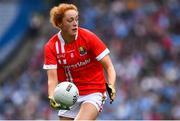 25 August 2019; Niamh Cotter of Cork during the TG4 All-Ireland Ladies Senior Football Championship Semi-Final match between Dublin and Cork at Croke Park in Dublin. Photo by Brendan Moran/Sportsfile