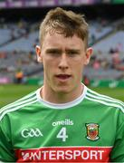 10 August 2019; Aidan Cosgrave of Mayo the Electric Ireland GAA Football All-Ireland Minor Championship Semi-Final match between Cork and Mayo at Croke Park in Dublin. Photo by Ray McManus/Sportsfile