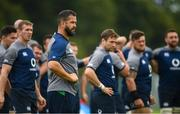 27 August 2019; Defence coach Andy Farrell during Ireland Rugby squad training at Carton House in Maynooth, Kildare. Photo by Ramsey Cardy/Sportsfile