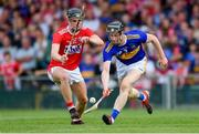 24 August 2019; Jerome Cahill of Tipperary in action against Daire Connery of Cork during the Bord Gáis Energy GAA Hurling All-Ireland U20 Championship Final match between Cork and Tipperary at LIT Gaelic Grounds in Limerick. Photo by Piaras Ó Mídheach/Sportsfile