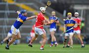 24 August 2019; Seán O'Leary Hayes of Cork in action against Billy Seymour of Tipperary during the Bord Gáis Energy GAA Hurling All-Ireland U20 Championship Final match between Cork and Tipperary at LIT Gaelic Grounds in Limerick. Photo by Piaras Ó Mídheach/Sportsfile