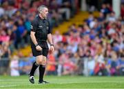 24 August 2019; Referee Liam Gordon during the Bord Gáis Energy GAA Hurling All-Ireland U20 Championship Final match between Cork and Tipperary at LIT Gaelic Grounds in Limerick. Photo by Piaras Ó Mídheach/Sportsfile