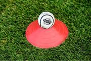 24 August 2019; A general view of a Cummins sliotar before the Bord Gáis Energy GAA Hurling All-Ireland U20 Championship Final match between Cork and Tipperary at LIT Gaelic Grounds in Limerick. Photo by Piaras Ó Mídheach/Sportsfile