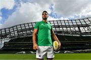 28 August 2019; Ireland Rugby star Conor Murray was on hand in Aviva Stadium to launch the Aviva Mini Rugby Nations Cup. Aviva are giving 20 U10 boys' and U12 girls' teams the chance to fulfil their dreams by playing on the same pitch as their heroes on September 22 while Conor and the team are up against Scotland in Japan. See aviva.ie/safetodream or Aviva Ireland social channels using #SafeToDream for details. Photo by Brendan Moran/Sportsfile