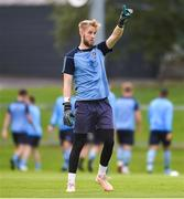 30 August 2019; UCD goalkeeper Conor Kearns prior to the SSE Airtricity League Premier Division match between UCD and Dundalk at The UCD Bowl in Belfield, Dublin. Photo by Ben McShane/Sportsfile