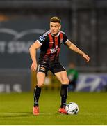 30 August 2019; Darragh Leahy of Bohemians during the SSE Airtricity League Premier Division match between Shamrock Rovers and Bohemians at Tallaght Stadium in Dublin. Photo by Seb Daly/Sportsfile