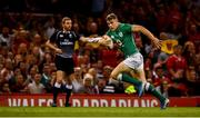 31 August 2019; Garry Ringrose of Ireland on his way to scoring a try which was subsequently disallowed during the Under Armour Summer Series 2019 match between Wales and Ireland at the Principality Stadium in Cardiff, Wales. Photo by David Fitzgerald/Sportsfile