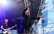 31 August 2019; Bonnie Tyler performs at the Electric Ireland Throwback Stage during day two of Electric Picnic 2019 at Stradbally in Laois. It's a Total Eclipse (of the Heart) at Electric Ireland's Throwback Stage. Bonnie Tyler made her triumphant return to the Electric Ireland Throwback Stage. Back by popular demand, the queen of power ballads, electrified the audience with an unforgettable set. The Throwback Stage is in full flow with headliners N-Trance set to close the stage tomorrow night. One of the most popular stages at the festival, Electric Ireland's Throwback Stage has previously played host to pop legends B*witched, Johnny Logan, Heather Small, 5ive, S Club Party, Ace of Base, 2 Unlimited, The Vengaboys and Bananarama – to name a few. Share in the nostalgia of the Electric Ireland ThrowbackStage, visit:www.twitter.com/ElectricIreland,www.facebook.com/ElectricIreland, www.instagram.com/ElectricIreland. #ThrowbackThrowdown. Photo by Sam Barnes/Sportsfile