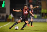30 August 2019; Rob Cornwall of Bohemians during the SSE Airtricity League Premier Division match between Shamrock Rovers and Bohemians at Tallaght Stadium in Dublin. Photo by Stephen McCarthy/Sportsfile