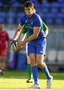 31 August 2019; Harry Byrne of Leinster during the The Celtic Cup Round 2 match between Leinster A and Scarlets A at Energia Park in Donnybrook, Dublin. Photo by Harry Murphy/Sportsfile