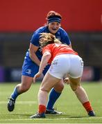 31 August 2019; Lindsay Peat of Leinster during the Women's Interprovincial Championship match between Munster and Leinster at Irish Independent Park in Cork. Photo by Ramsey Cardy/Sportsfile