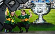 1 September 2019; Kerry supporters Laura, age 15, and Jenny Healy, age 16, from Kilcummin, Co Kerry prior to the GAA Football All-Ireland Senior Championship Final match between Dublin and Kerry at Croke Park in Dublin. Photo by David Fitzgerald/Sportsfile