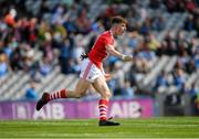 1 September 2019; Conor Corbett of Cork celebrates after scoring a goal for his side during the Electric Ireland GAA Football All-Ireland Minor Championship Final match between Cork and Galway at Croke Park in Dublin. Photo by Eóin Noonan/Sportsfile