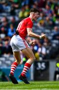 1 September 2019; Conor Corbett of Cork celebrates a last minute goal, in normal time, during the Electric Ireland GAA Football All-Ireland Minor Championship Final match between Cork and Galway at Croke Park in Dublin. Photo by Ray McManus/Sportsfile