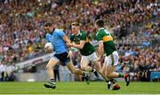 1 September 2019; Dean Rock of Dublin in action against Jason Foley of Kerry during the GAA Football All-Ireland Senior Championship Final match between Dublin and Kerry at Croke Park in Dublin. Photo by Seb Daly/Sportsfile