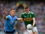 1 September 2019; Jason Foley of Kerry in action against Con O'Callaghan of Dublin during the GAA Football All-Ireland Senior Championship Final match between Dublin and Kerry at Croke Park in Dublin. Photo by Eóin Noonan/Sportsfile