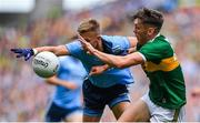 1 September 2019; David Clifford of Kerry in action against Jonny Cooper of Dublin during the GAA Football All-Ireland Senior Championship Final match between Dublin and Kerry at Croke Park in Dublin. Photo by Brendan Moran/Sportsfile