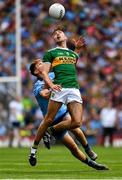 1 September 2019; Adrian Spillane of Kerry in action against Michael Fitzsimons of Dublin during the GAA Football All-Ireland Senior Championship Final match between Dublin and Kerry at Croke Park in Dublin. Photo by Ray McManus/Sportsfile
