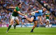 1 September 2019; James McCarthy of Dublin in action against David Moran of Kerry during the GAA Football All-Ireland Senior Championship Final match between Dublin and Kerry at Croke Park in Dublin. Photo by Ray McManus/Sportsfile