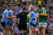 1 September 2019; Referee David Gough after showing Jonny Cooper of Dublin a red card during the GAA Football All-Ireland Senior Championship Final match between Dublin and Kerry at Croke Park in Dublin. Photo by Ramsey Cardy/Sportsfile
