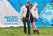 1 September 2019; Matty Jauch and his daughter Dara, From Dingle in attendance the Electric Ireland Throwback Stage after winning tickets from Electric Ireland during day three of Electric Picnic 2019 at Stradbally in Laois. Lycra Legend Mr Motivator brings the energy to Electric Ireland's Throwback Stage. Fitness Fanatic Mr Motivator got the crowd revived at the final day of Electric Ireland's Throwback Stage. The lycra legend brought the crowd's energy levels up for one more day of retro fun. This year, Electric Ireland's Throwback Stage hosts a line-up of legends including headliners Bonnie Tyler, N-Trance, Mr. Motivator and Lords of Strut. One of the most popular stages at the festival, Electric Ireland's Throwback Stage has previously played host to pop legends B*witched, Johnny Logan, Heather Small, 5ive, S Club Party, Ace of Base, 2 Unlimited, The Vengaboys and Bananarama – to name a few. Share in the nostalgia of the Electric Ireland Throwback Stage, visit: www.twitter.com/ElectricIreland, www.facebook.com/ElectricIreland, www.instagram.com/ElectricIreland.  #ThrowbackThrowdown. Photo by Sam Barnes/Sportsfile