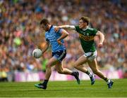 1 September 2019; Jack McCaffrey of Dublin in action against Gavin White of Kerry during the GAA Football All-Ireland Senior Championship Final match between Dublin and Kerry at Croke Park in Dublin. Photo by Eóin Noonan/Sportsfile