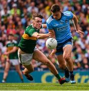 1 September 2019; Brian Howard of Dublin in action against David Clifford of Kerry during the GAA Football All-Ireland Senior Championship Final match between Dublin and Kerry at Croke Park in Dublin. Photo by Stephen McCarthy/Sportsfile