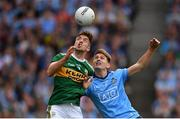 1 September 2019; Adrian Spillane of Kerry in action against Michael Fitzsimons of Dublin during the GAA Football All-Ireland Senior Championship Final match between Dublin and Kerry at Croke Park in Dublin. Photo by Seb Daly/Sportsfile